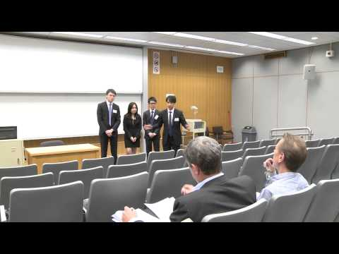 HSBC Asia Pacific Business Case Competition 2014   Round 3   The University of Hong Kong