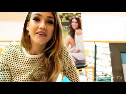 JESSICA ALBA | BOOK REVUE TV