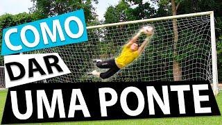 APRENDA COMO DAR UMA PONTE COM GOLEIRO IGOR (Lances efetivos de futebol) {BZK}