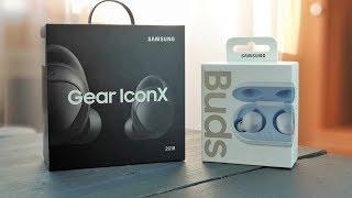 Samsung Gear IconX 2018 VS Galaxy Buds - а нужен ли апгрейд?