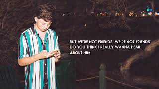 Jacob Sartorius We 39 Re Not Friends Official Audio