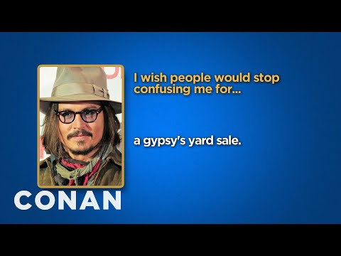 Celebrity Survey: Johnny Depp, Jay Z Edition  - CONAN on TBS