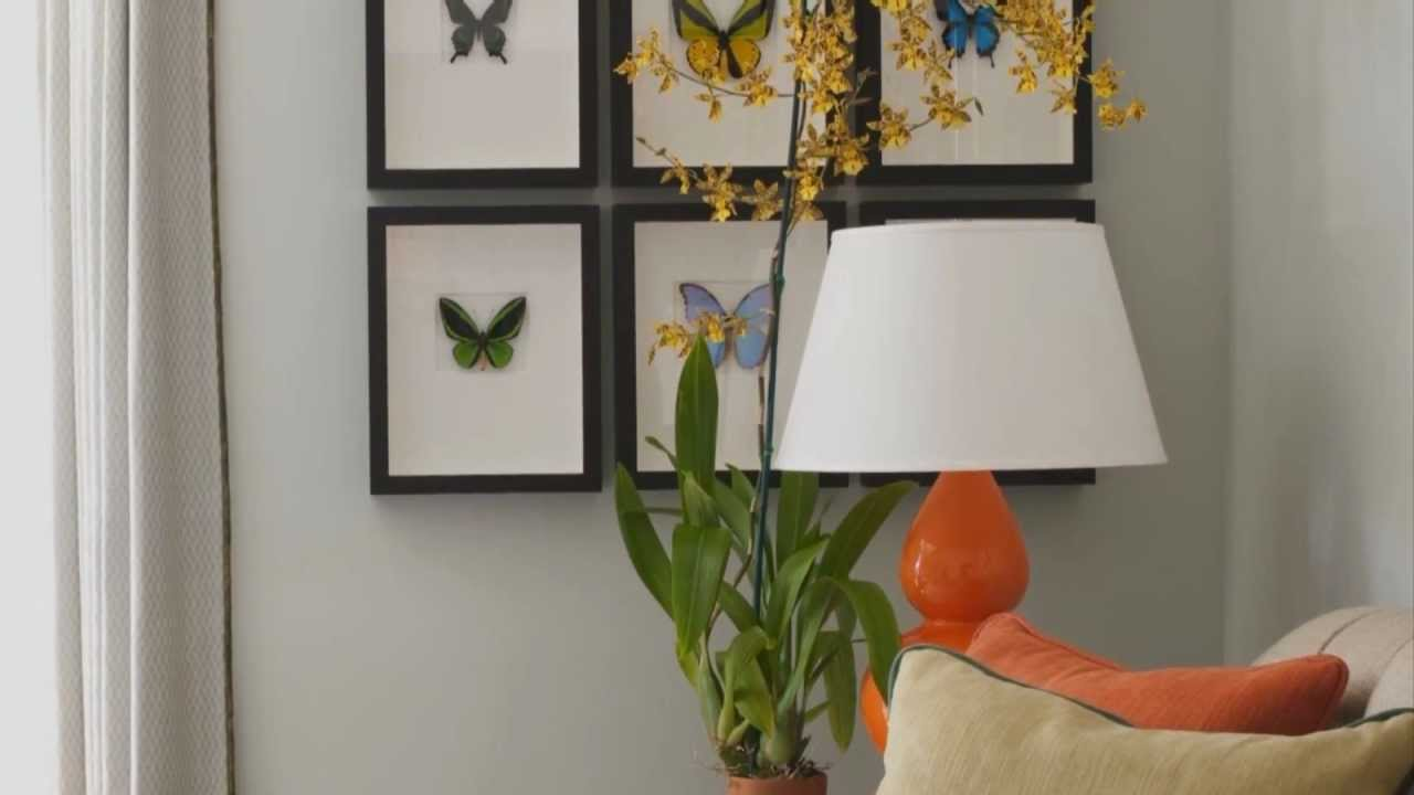 Interior home decorating with wall art youtube for Home decorations youtube