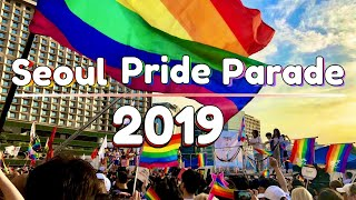 K-pop songs played in Seoul Pride Parade 2019