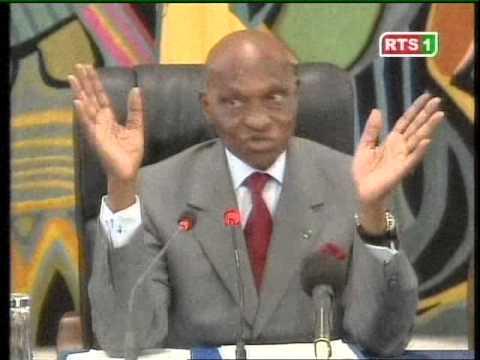 Quand Abdoulaye WADE parlait des grands ensembles des partis