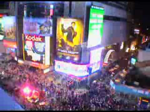 "Ween ""Exactly Where I'm At"" - NYE '08 Times Square"