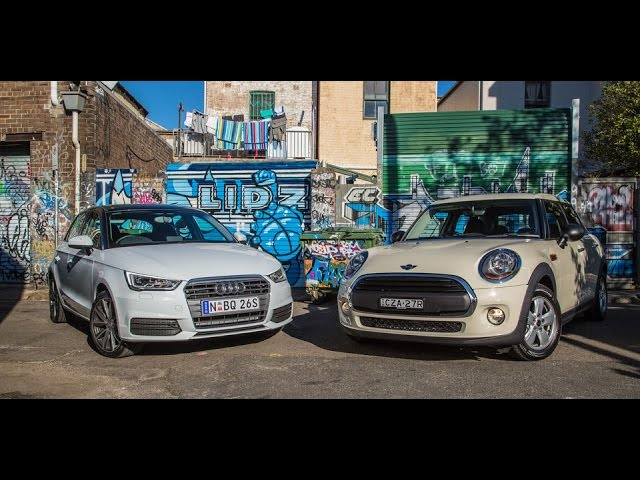 Audi A1 Sportback vs Mini 5 Door One