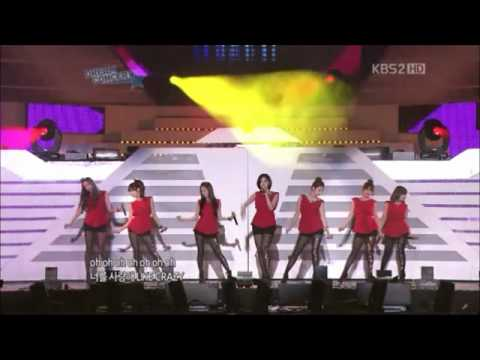 (June 10th 2011) (Dream Concert Live) Tara - Why Are You Being Like This