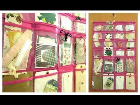 Organizaci n para manualidades c mo organizar etiquetas y for Como organizar una casa pequena