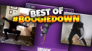 BEST OF #BOOGIEDOWN CONTEST || NEW FORTNITE EMOTES *FT. MYTH AND POKIMANE*