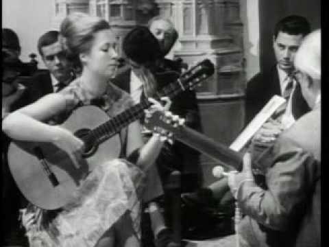 Andrés Segovia (Master Class 1965) with Brigitte Zaczeck (part 3)
