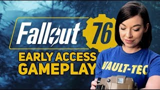 Fallout 76 Early Access Gameplay Overview! (4K on Xbox One X)