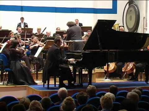 Rachmaninoff Konzert für Klavier und Orchester c-moll op. 18 III. Allegro scherzando