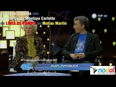 Estela de Carlotto e Ignacio Guido Montoya Carlotto - Línea de Tiempo con Matías Martin