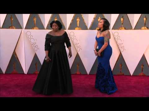 Oscars: Whoopi Goldberg Red Carpet (2016)
