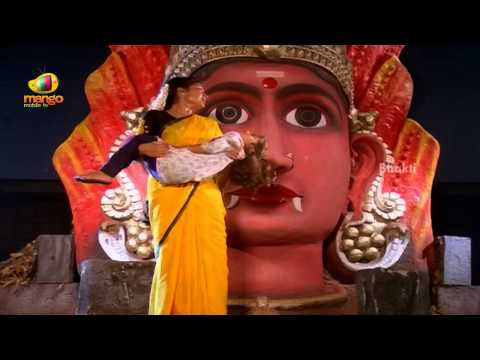Sindhoora Devi Movie Scenes -  Kanaka Pleading Goddess Sindhoora Devi - Vivek, Kanaka video