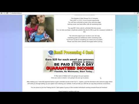 Email Processing Review - i made $19,750 in 22 days  - No scam