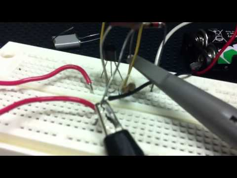Building the Pierce rf oscillator