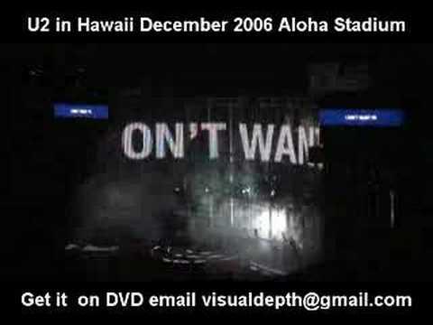 u2 hawaii