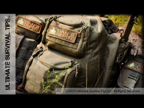 NEW! Best Pre-Made Bug Out Bag? Dan's Depot Adirondack Survival Pack REVIEW - PART 1