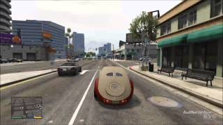 Grand Theft Auto 5 - Bugatti Atlantic Tuning Car Driving Gameplay [HD]