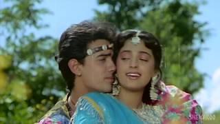 Tum Mere Ho Title Song   Aamir Khan   Juhi Chawla   Udit Narayan   Anupama   Anand Milind