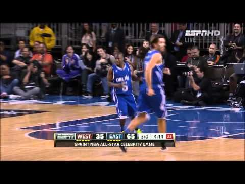 Kevin Hart - NBA Celebrity All-Star Game 2012 MVP HD