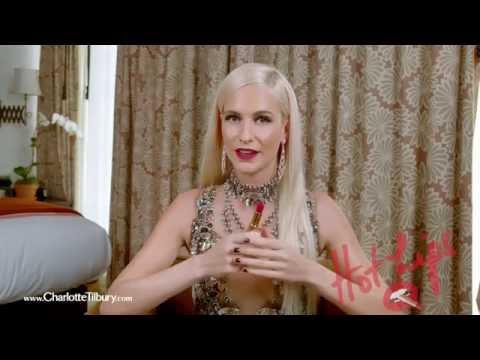 Hot Lips Lipstick feat. Poppy Delevingne : Electric Poppy   Charlotte Tilbury