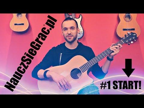 Nauka gry na gitarze. Lekcja 1 - Przekonaj się jakie to proste !