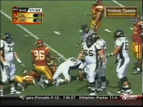 Aaron Rodgers (QB California/Green Bay Packers) vs USC 2004
