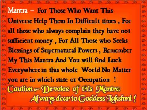Mantra for Money Wealth And Abundance - Attract Abundance in...
