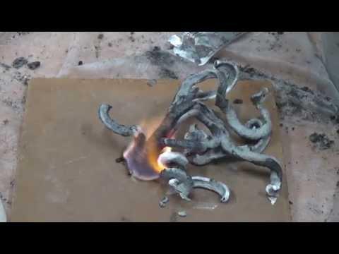 Химические опыты Фараонова змея (Ландау Центр)