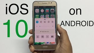 Make Android Looks like iOS 10! 2016 [EXCLUSIVE]