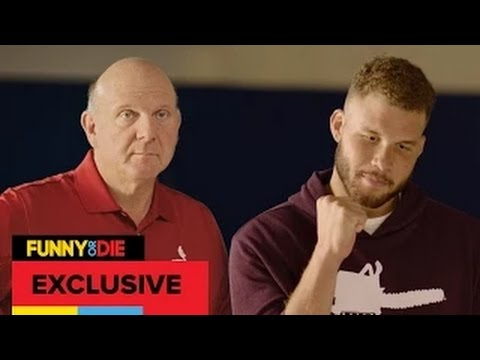 The New Clippers || Logo Blake Griffin And Steve Ballmer Unveil