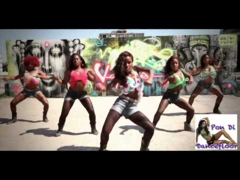 BIG BOOTY NEW YEARS 2012 JAMAICAN Best Dancehall Dance Crew thumbnail