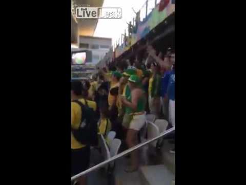 World cup open game. Brazil X Croatia.