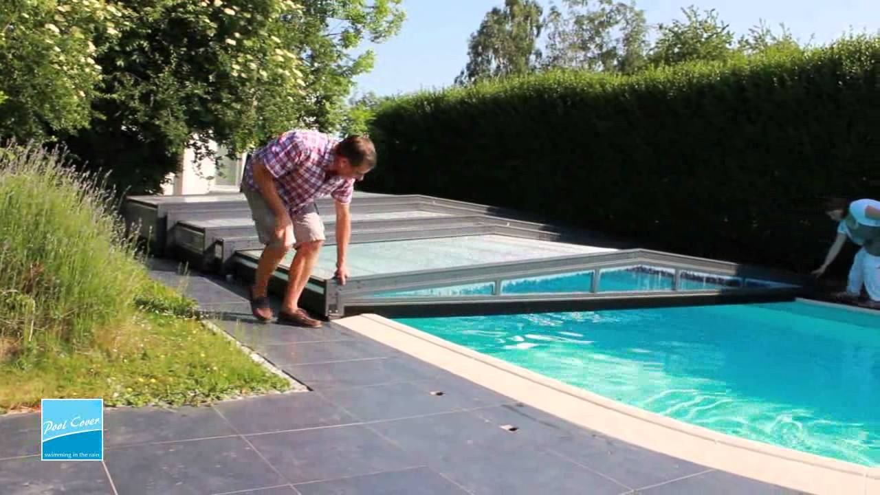 Abri piscine super bas interview mr loriaux pool cover for Abri de piscine easy cover