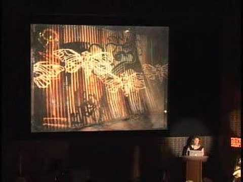 Swoon presenting her work at MoMA, (Part 1 of 2)