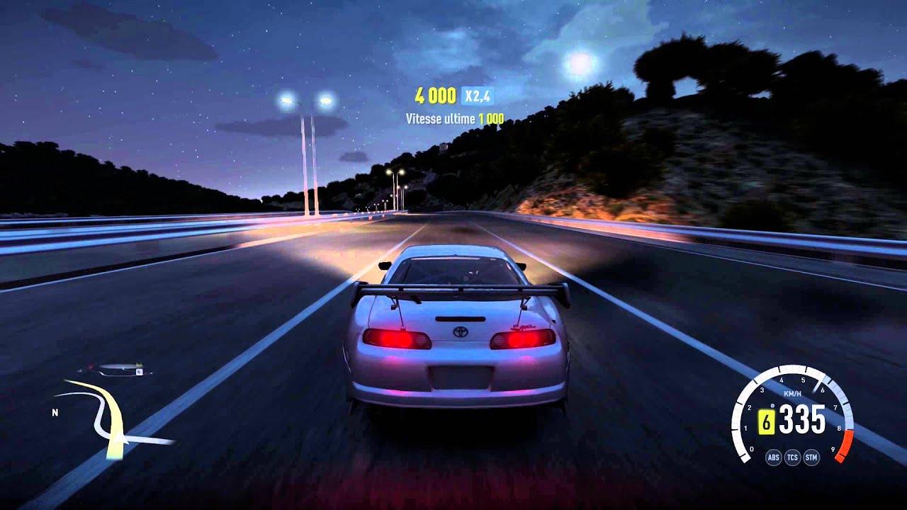 Forza Horizon 2 Toyota Supra Rz 1020hp Gameplay Hd 1080p