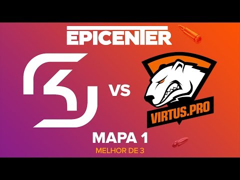 EPICENTER 2017 - SK Gaming vs. Virtus.Pro (Mapa 1 - Train) - Narração PT-BR