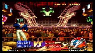 The King of Fighters 97 Robert Garcia
