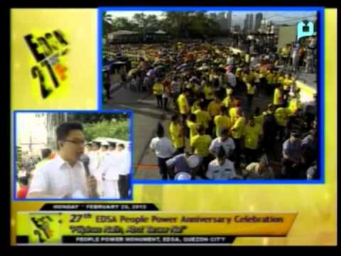 Part 1 - 27th Anniversary of EDSA People Power Celebration - PTV Special Coverage