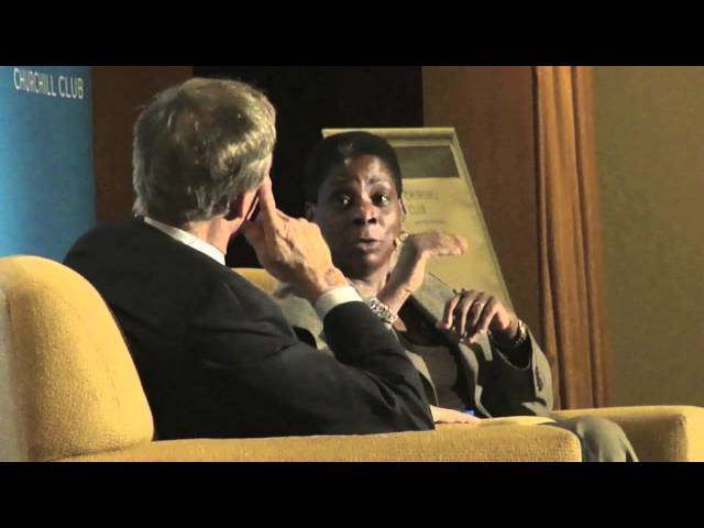 On Global Economy: Ursula Burns of Xerox & George Colony of Forrester