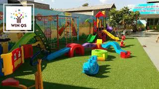 Sân cỏ nhân tạo khu vui chơi trẻ em - WINQS