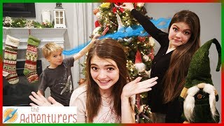 Twin Telepathy Tree Decorating We Found A Gnome! I That YouTub3 Family The Adventurers