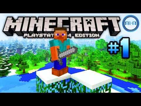 Minecraft PS4 gameplay Part 1 -
