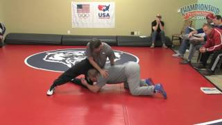 Brandon Slay: Developing a World Class Ankle Pick and Single Leg