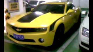 雪佛蘭大黃蜂在中國廣州 (b) Camero Bumblee Bee in Guangzhou, China