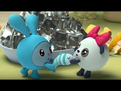 Малышарики - Брызгалки 🔫 - серия 114 - обучающие мультфильмы для малышей 0-4