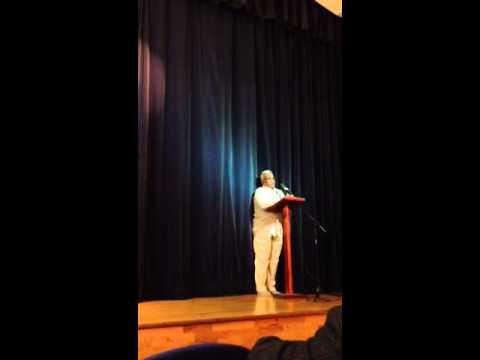 Al.Muthupalaniappan's speech in London Lewisham Siva Temple